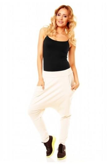 Pantalon fashion alb