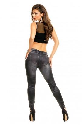Colanti jeans black