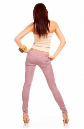 Pantaloni conici mov