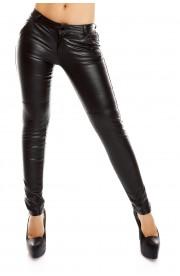 Pantaloni Dama Piele Ecologica Simpli