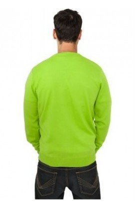 Pulover tricot limegreen