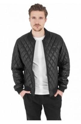 Jacheta matlasata din piele ecologica