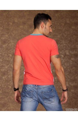Tricou Multicolor cu Aspect 2 in 1
