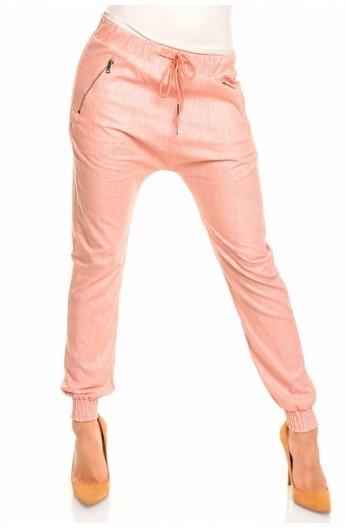 Pantaloni Jolly roz