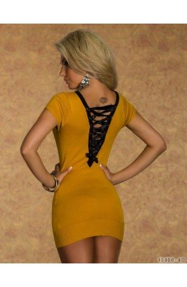 Rochie Mustar Casual