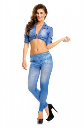 Colanti model denim light blue