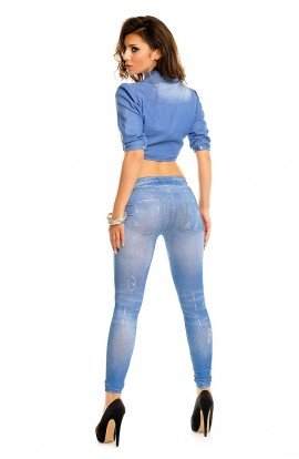 Colant denim blue
