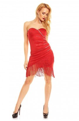 Rochie Ethina Red