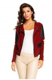 Cardigan Best Bordo