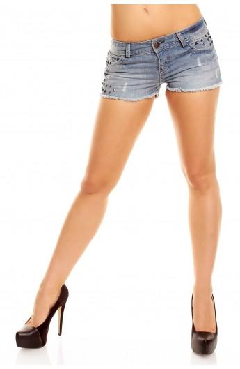 Pantalon scurt jeans