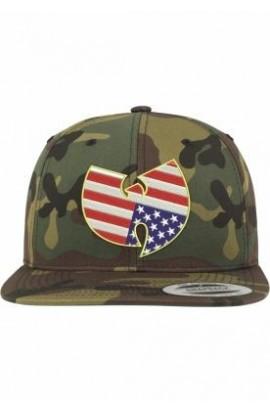 Sepci rap Wu-Wear american camuflaj