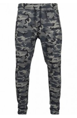 Pantaloni Interlock Camo