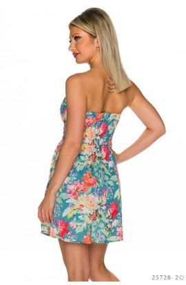 Rochie Babydoll cu Model Floral