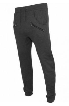 Pantaloni trening cu tur lasat