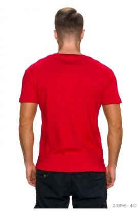 Tricou Casual cu Logo