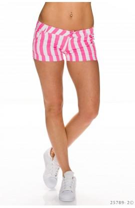 Pantaloni Scurti cu Dungi Neon