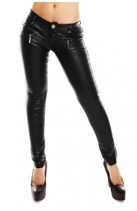 Pantaloni Dama Skinny Piele Ecologica