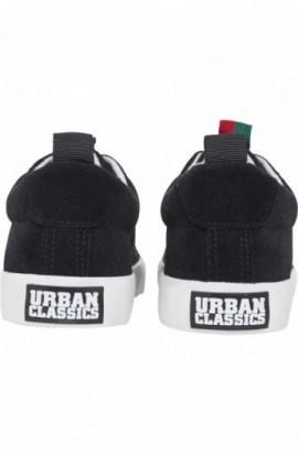 Velour Sneaker negru-stripes 39