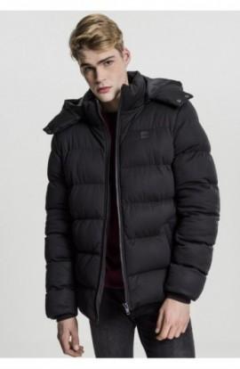 Hooded Boxy Puffer Jacket negru M