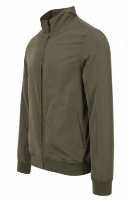 Nylon Training Jacket oliv inchis S