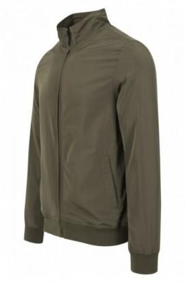 Nylon Training Jacket oliv inchis XL