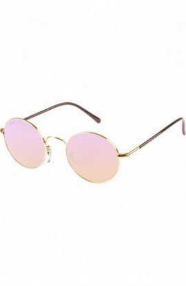 Sunglasses Flower auriu-ros