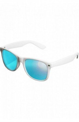 Sunglasses Likoma Mirror alb-albastru