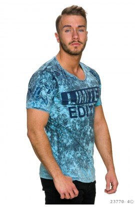 Tricou Limited Edition blau , S