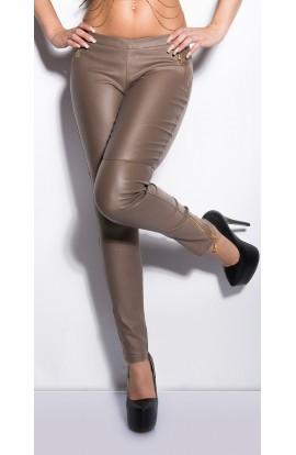 Pantaloni Mulati Dama cu Fermoare Metalice