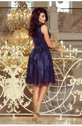 Rochie brodata albastra