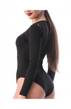 Body negru cu maneca lunga